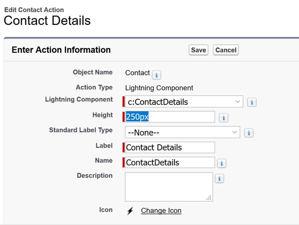 Salesforce – Lightning web components with Quick actions – The